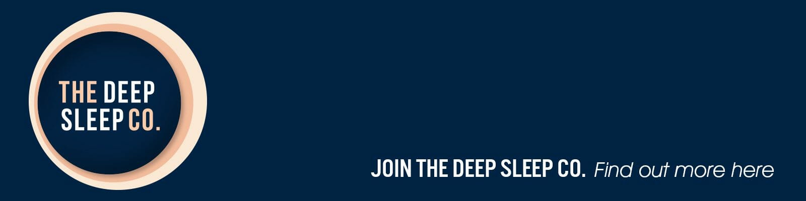 Join The Deep Sleep Co.