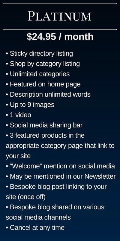 Submit Listing - Platinum