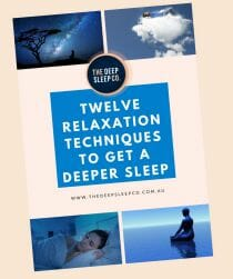 Cover of Sleep Relaxation Techniques E-book