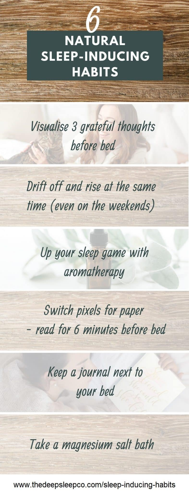Natural Sleep-Inducing Habits