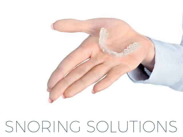 Sleeping products - Snoring solutions