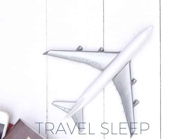 Travel sleeping products