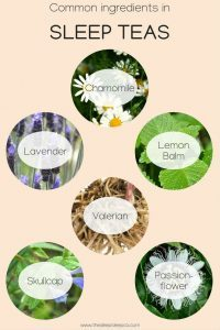 Common ingredients in sleep tea blends