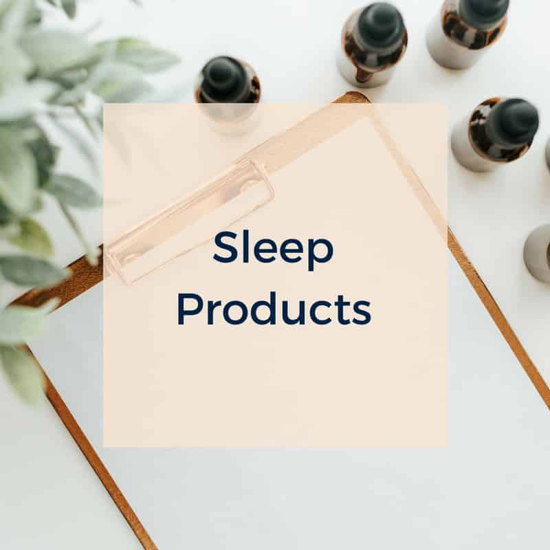Sleep aids and products blog