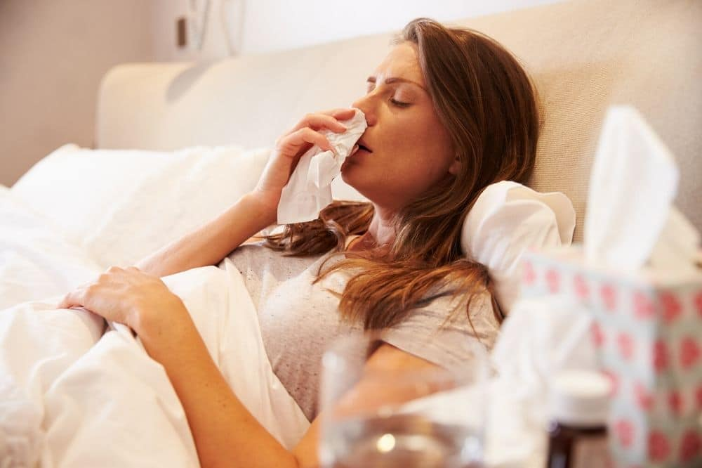 How to sleep when you have a respiratory illness