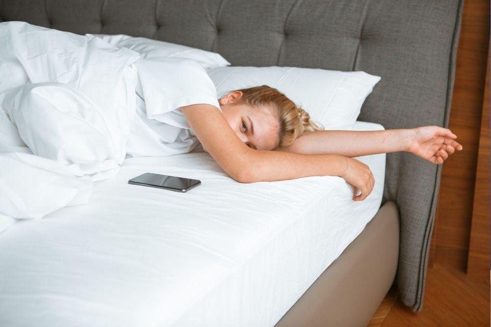 Phones and sleep