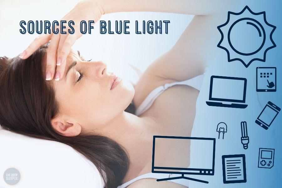 Sources of blue light